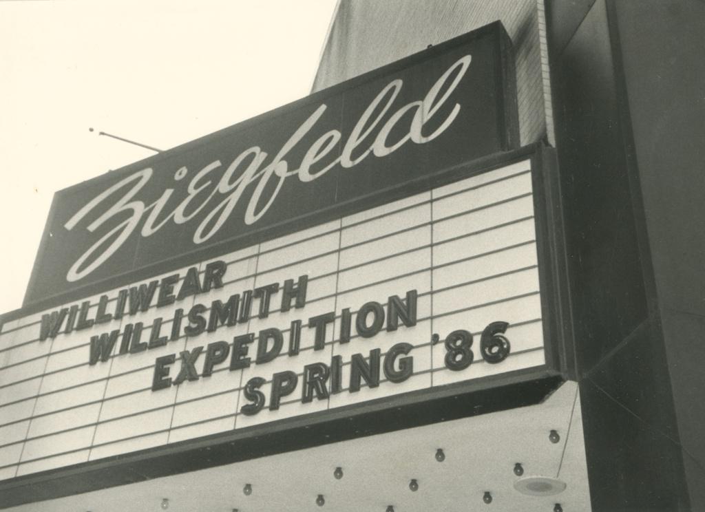 Photograph, Screening at Ziegfeld Theatre, New York, 1985