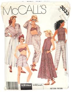 McCall's Pattern 3033, 1984
