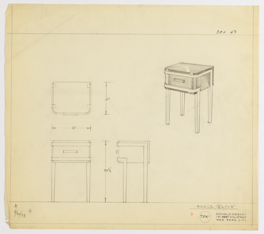 Drawing, End Table