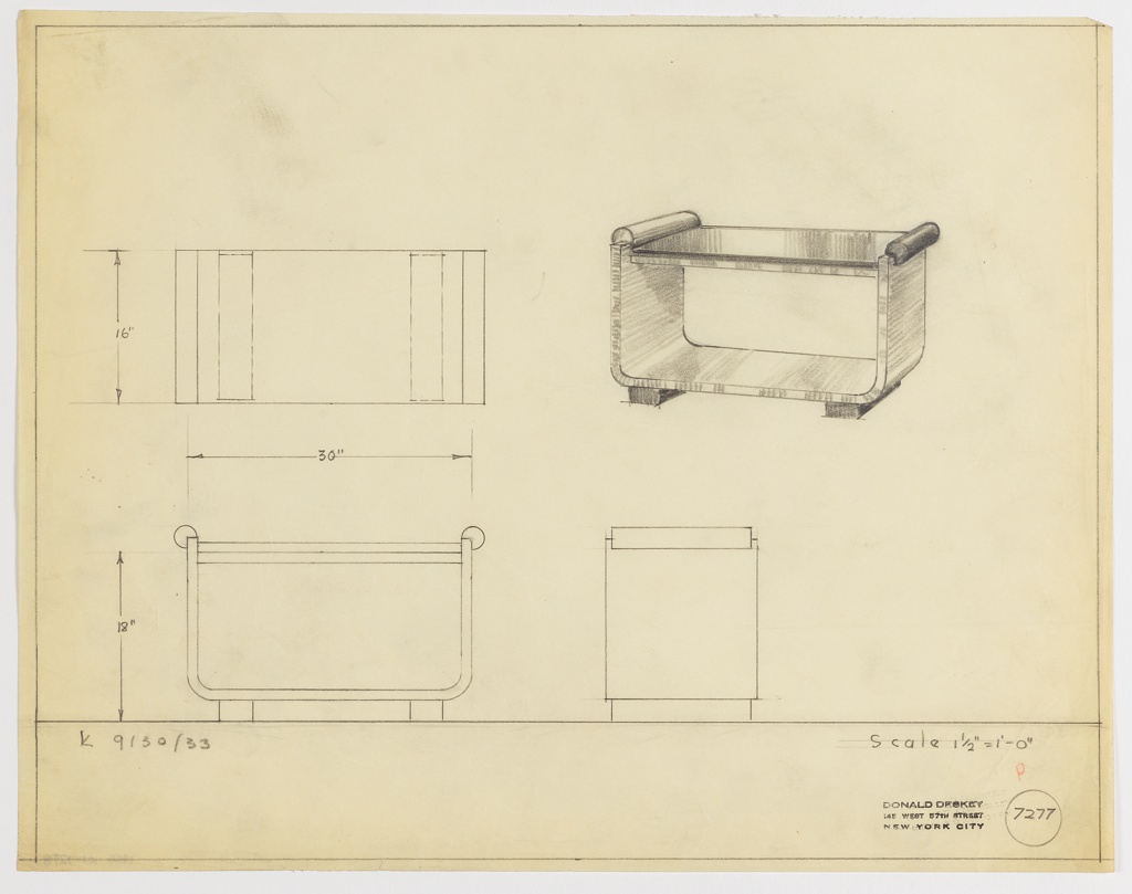Drawing, Coffee Table