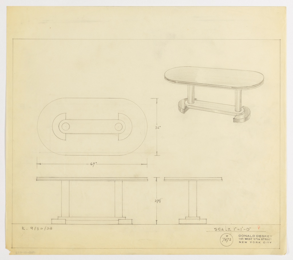 Drawing, Table, Oval