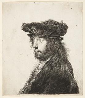 Print, Oriental Head