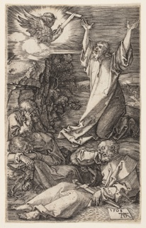 Print, Agony in the Garden, from The Engraved Passion