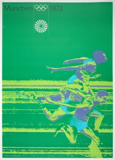 Poster, Munich Olympics