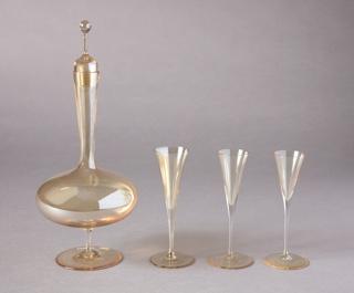 Glass, Ambassador Liqueur Decanter Set