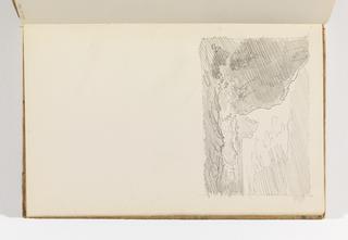 Sketchbook Folio, Rapid Sketch of Rocky Sea Coast