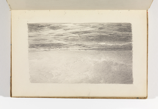Sketchbook Folio, Study of Ocean, Waves, and Clouds, after 1878
