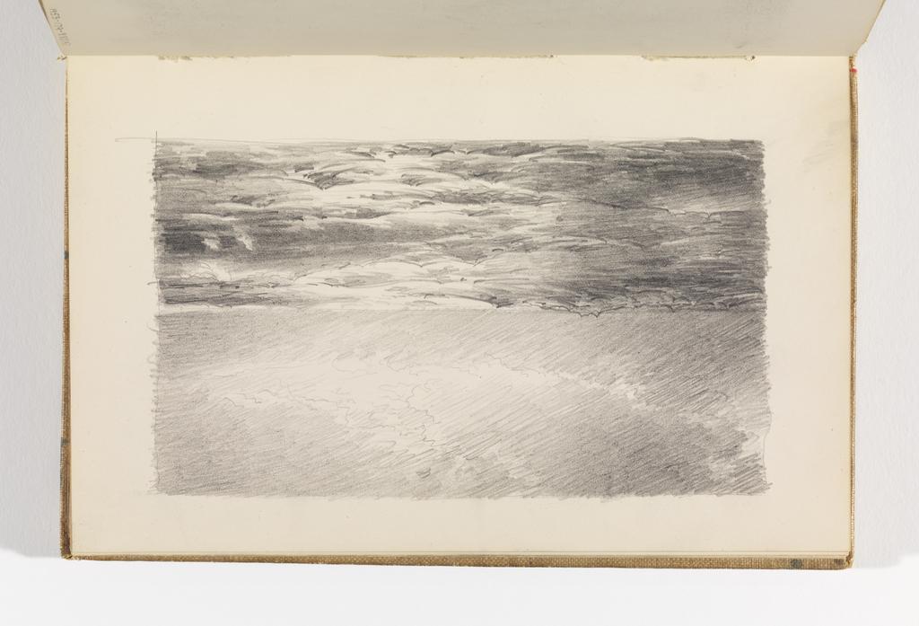 Sketchbook Folio, Seascape and Clouds