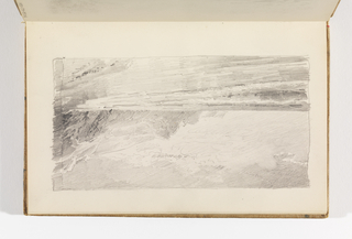 Sketchbook Folio, Beach with Cliffs, after 1878