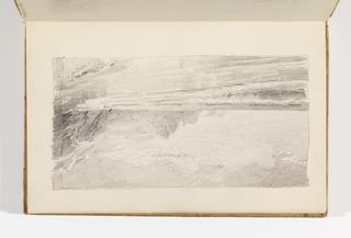 Sketchbook Folio, Beach with Cliffs