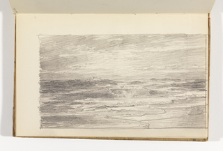 Sketchbook Folio, Seascape with Beach