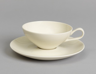 "Tea Cup and Saucer from ""Museum"" Service Cup And Saucer"