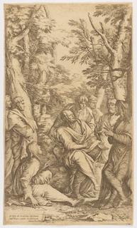 Print, The Academy of Plato