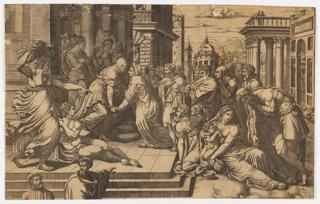 Print, The Visitation