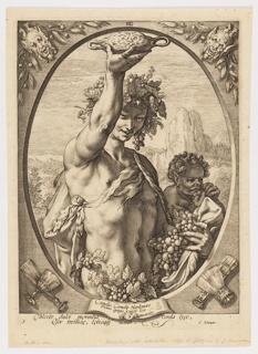 Print, Bacchus