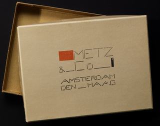 Box, Packaging for Metz & Co. (Box)