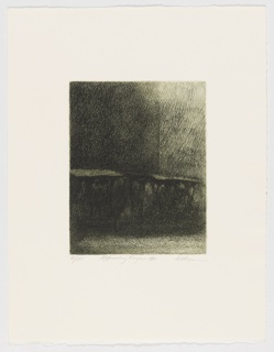 Print, Approaching Figure II, ca. 1968