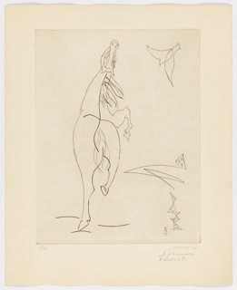 Print, Horse, 1954