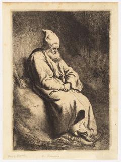 Print, The Hermit