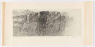 Print, Five Figures, 1960