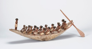 Model of a River Boat Funerary Art