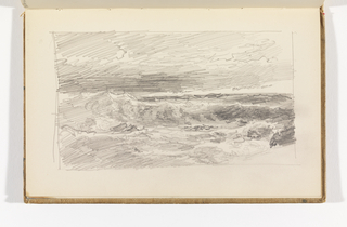 Sketchbook Folio, Stormy Ocean View