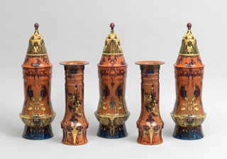 Covered Vase Vase, 1889
