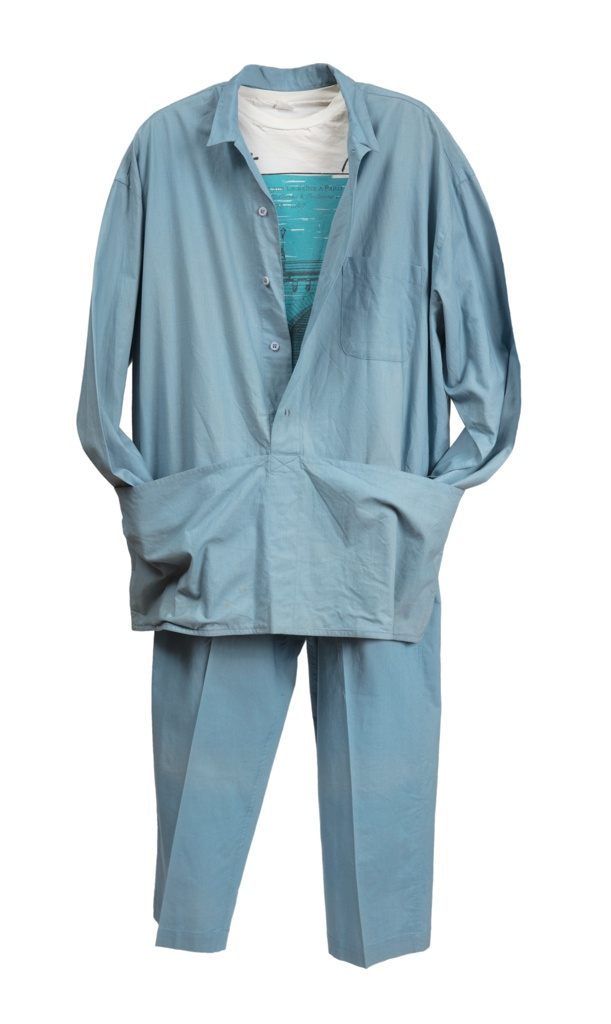 Uniform Pants, The Pont Neuf Wrapped, 1985