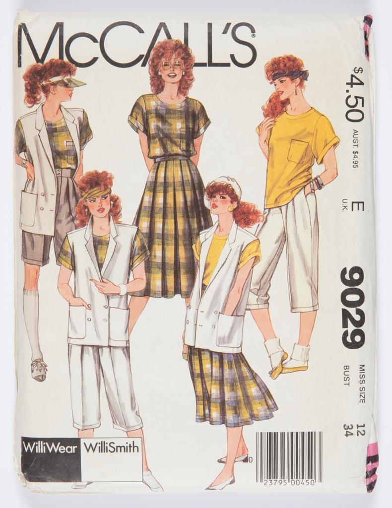 McCall's Pattern 9029, 1985