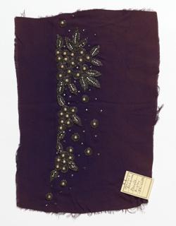 Embroidery Sample (USA), 1930s