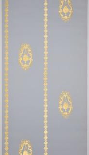 """Sidewall, Sidewall with """"C"""" scroll and Foliate Decoration"""