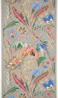 Sidewall, Sidewall in Floral and Foliate pattern