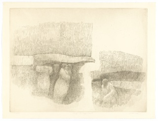 Print, City Fragments, 1960