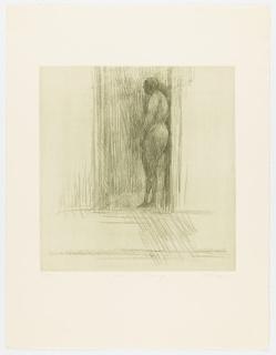 Print, Figure in a Doorway, 1965