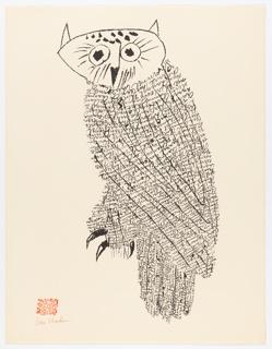 Print, Owl I