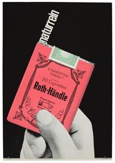 Poster, Roth-Händle Naturrein