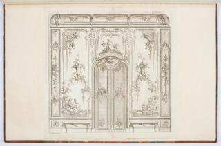 Bound Print, Design for Interior Decoration of Doorway