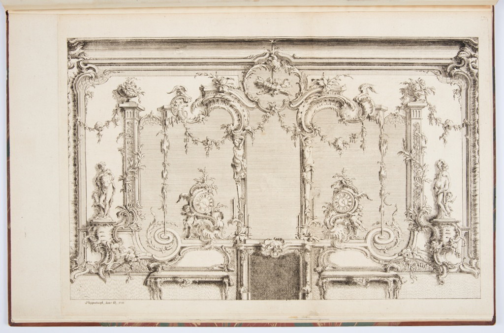 Print, Design for Interior Decoration of Chimneypiece