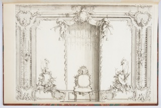 Print, Design for a Grotto Room