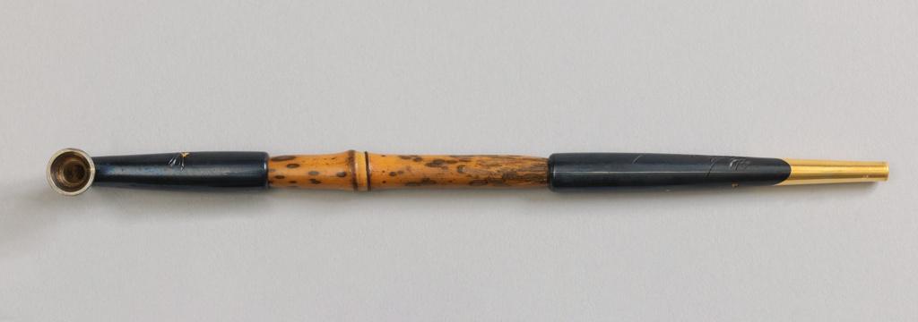Opium Pipe with Case Opium Pipe