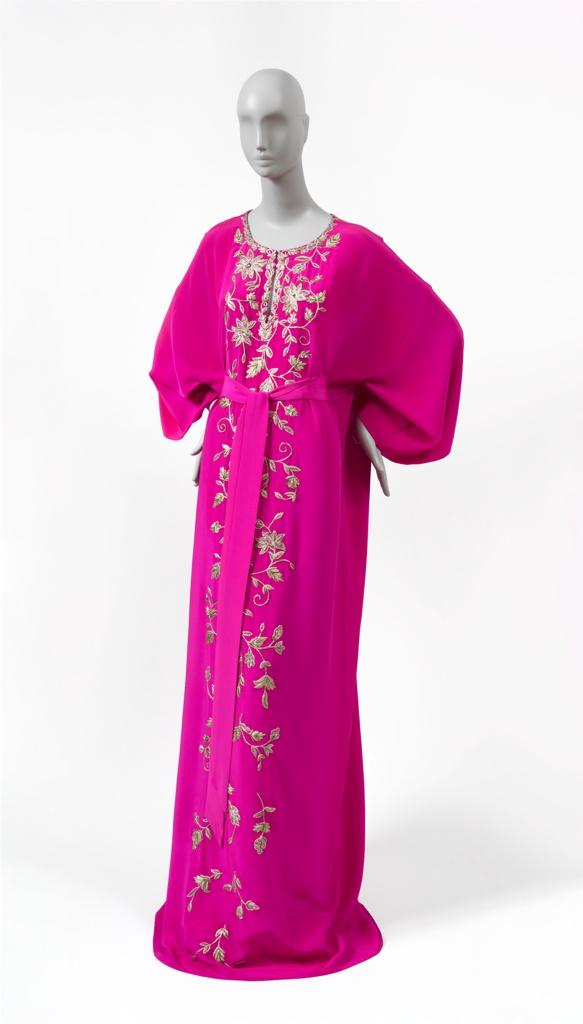 1063-94 Handbag by Kate Spade (USA, established 1976) Worn by Sheika Raya Al-Khalifa to an American embassy event in Qatar, Ramadan 2017