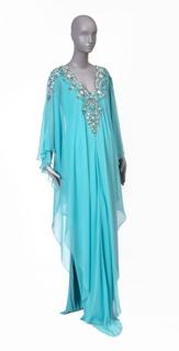 1063-95 Worn by Sheika Raya Al-Khalifa in Harper's Bazaar Arabia, Qatar Special Edition, Autumn/Winter 2012