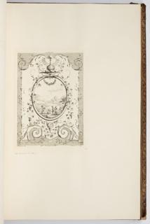 Bound Print, L'Autonne, in Oeuvre de Watteau