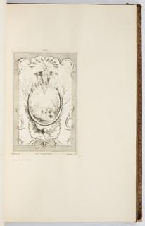 Bound Print, L'Hiver, in Oeuvre de Watteau