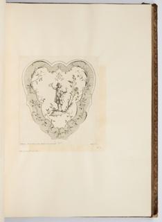 Bound Print, Le Gout, plate in Oeuvre de Watteau