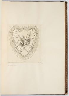 Bound Print, L'Ouie, plate in Oeuvre de Watteau