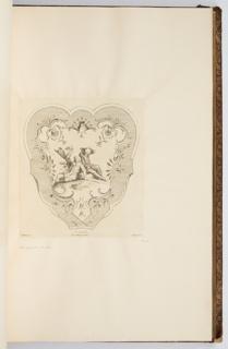 Bound Print, L'Odorat, plate in Oeuvre de Watteau