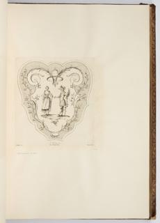 Bound Print, L'Alliance, plate in Oeuvre de Watteau