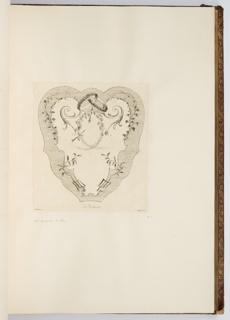 Bound Print, Le Printemps, plate in Oeuvre de Watteau