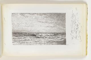 Sketchbook Folio, Study of Gently Rolling Waves, © June 12, 1979